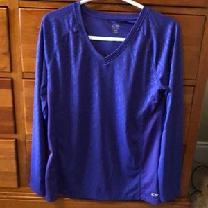 Workout long sleeved shirt